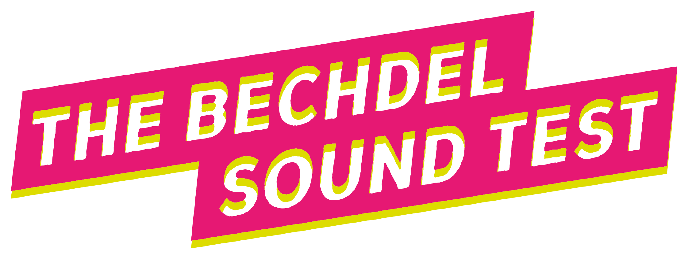 The Bechdel Sound Test